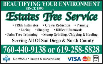 Estates Tree Service San Diego